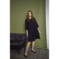 Ichi JERSEY DRESS Black