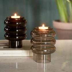 Riviera Maison Multiple Candle Holder Vase brown