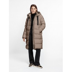 BEAUMONT Puffer parka - Taupe