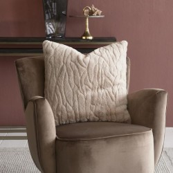 Riviera Maison Faux Fur Wave Pillow Cover 50x50