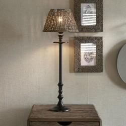 Rustic Rattan Cross Weave Lamp Shade 20x15