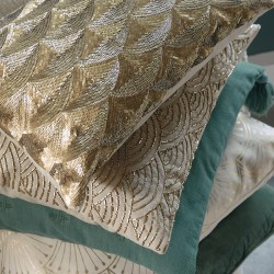 Riviera Maison Enchanting Gold Pillow Cover 30x50
