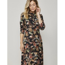 SUMMUM WOMAN Maxi dress with flower print
