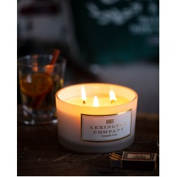 Scented Candle Cinnamon Spice (with 3 wicks)