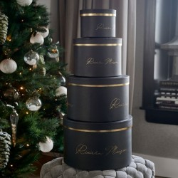RM Luxurious Giftbox black Set of 4 pieces