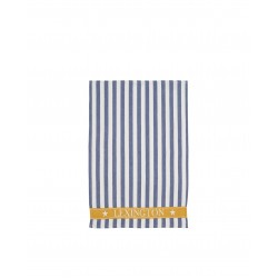 Lexington keittiöpyyhe Striped Cotton Kitchen Towel, Blue/White