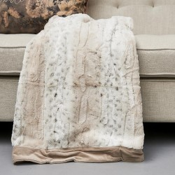 Riviera Maison Fairbank Fab. FauxFur Throw 180x130